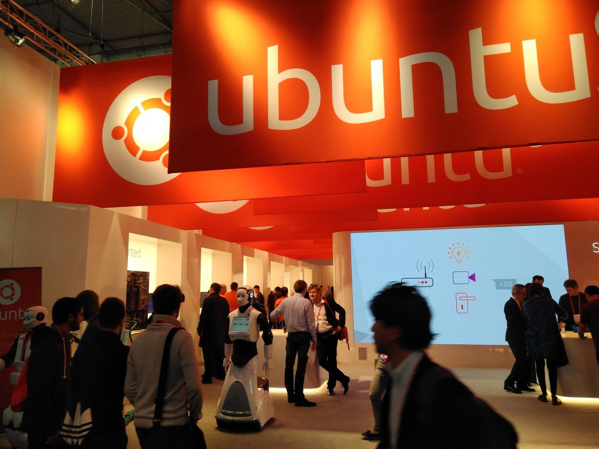 LliureTIC - Ubuntu, robótica en el Mobile World Congress 2017